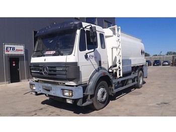 Mercedes-Benz SK 1827 (STEEL SUSP. / BIG AXLE / V6 / 14350 L / 2 COMPARTMENTS) - цистерна камион