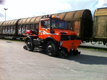 Mercedes-Benz U1400,Unimog, Zweiwege.Road and Rail,Railway  - камион