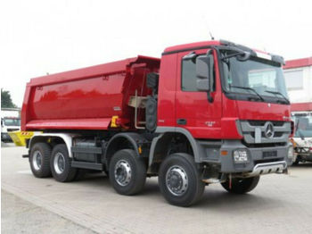 Самосвал камион Mercedes-Benz Actros 4141 8x6 4 Achs Muldenkipper 3x Pedale (T