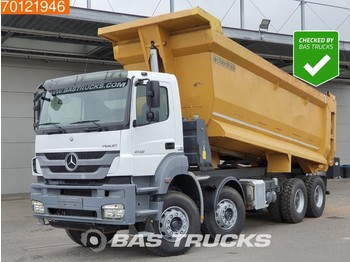 Mercedes-Benz Axor 4140 B 8X4 Manual Big-Axle SteelSuspension 26m3 New Tyres! - самосвал камион
