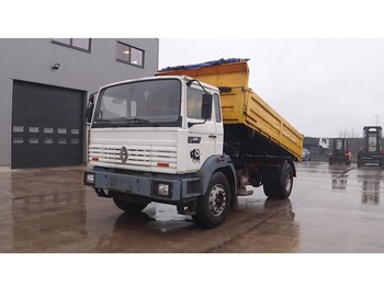 Renault G 220 Manager (GRAND PONT / SUSPENSION LAMES / 6 CULASSE) - самосвал камион