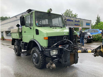 Unimog U 1200 Road and Rail  - камион