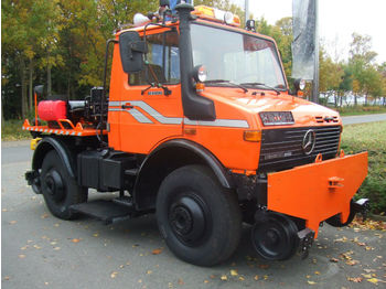 Unimog U 1400 Road and Rail  - камион