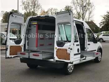 Ford Transit Connect 1.8 TDCi lang  DPF+Einbau+1.Hand  - товарен бус