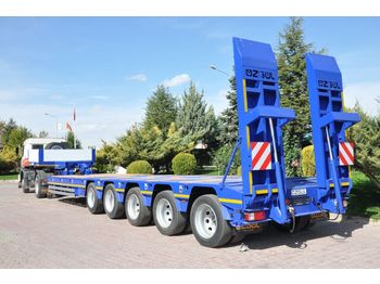 OZGUL PROPERTIES OF LOWBED WITH 5 AXLES - нискорамна площадка полуремарке