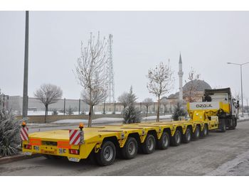 OZGUL PROPERTIES OF LOWBED WITH 8 AXLES - нискорамна площадка полуремарке