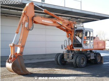 Колесен багер Hitachi FH 200-3 Nice and clean condition - good tyres: снимка 1