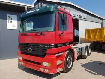 Mercedes Benz ACTROS 2653 6X4 tractor unit - влекач