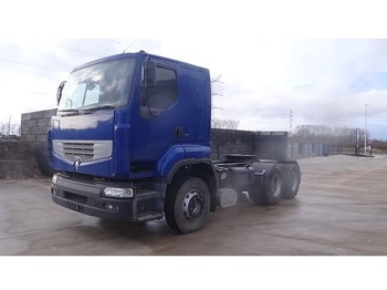 Renault R 385 Major (2 CULASSE / SUSPENSION LAMES / POMPE MANUELLE / GRAND PONT) - влекач